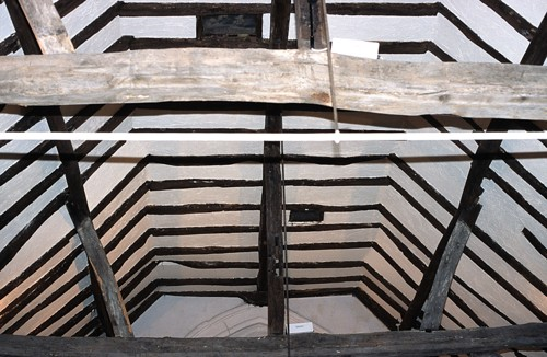 Rafters of the Old Church