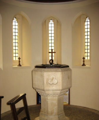 Font in St John the Baptist