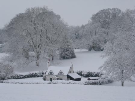 A wintry scene at The Lee