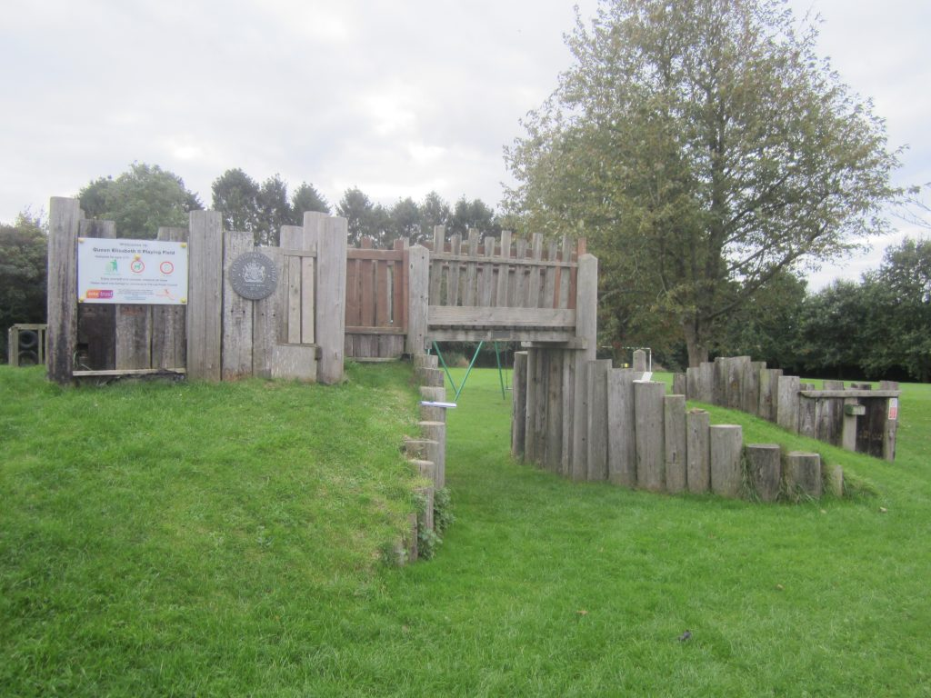 The old fort in the playground