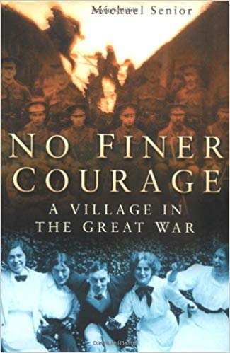 Cover of book 'No Finer Courage'
