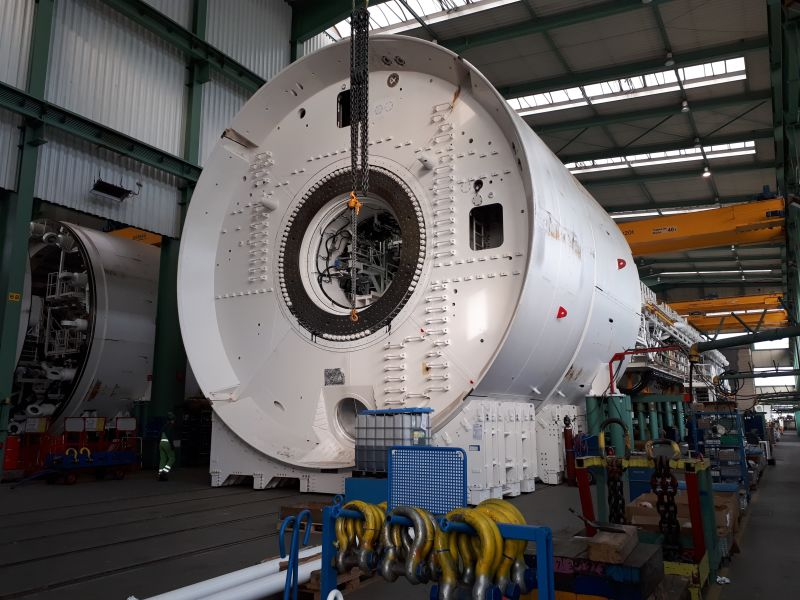 HS2 boring machine